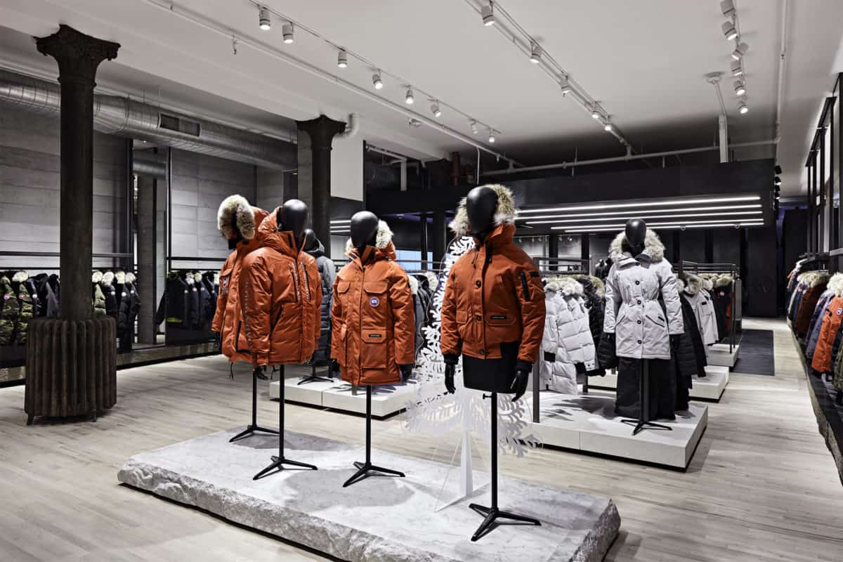 CANADA GOOSE TO EXPAND GLOBAL FOOTPRINT WITH THREE NEW STORES