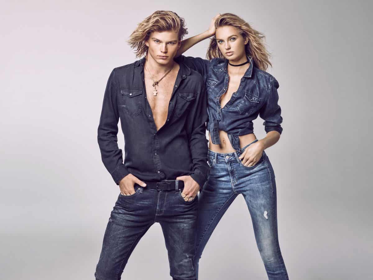 6da5d1147fade5 MAVI TAPS MODEL JORDAN BARRETT FOR SPRING 2018 CAMPAIGN