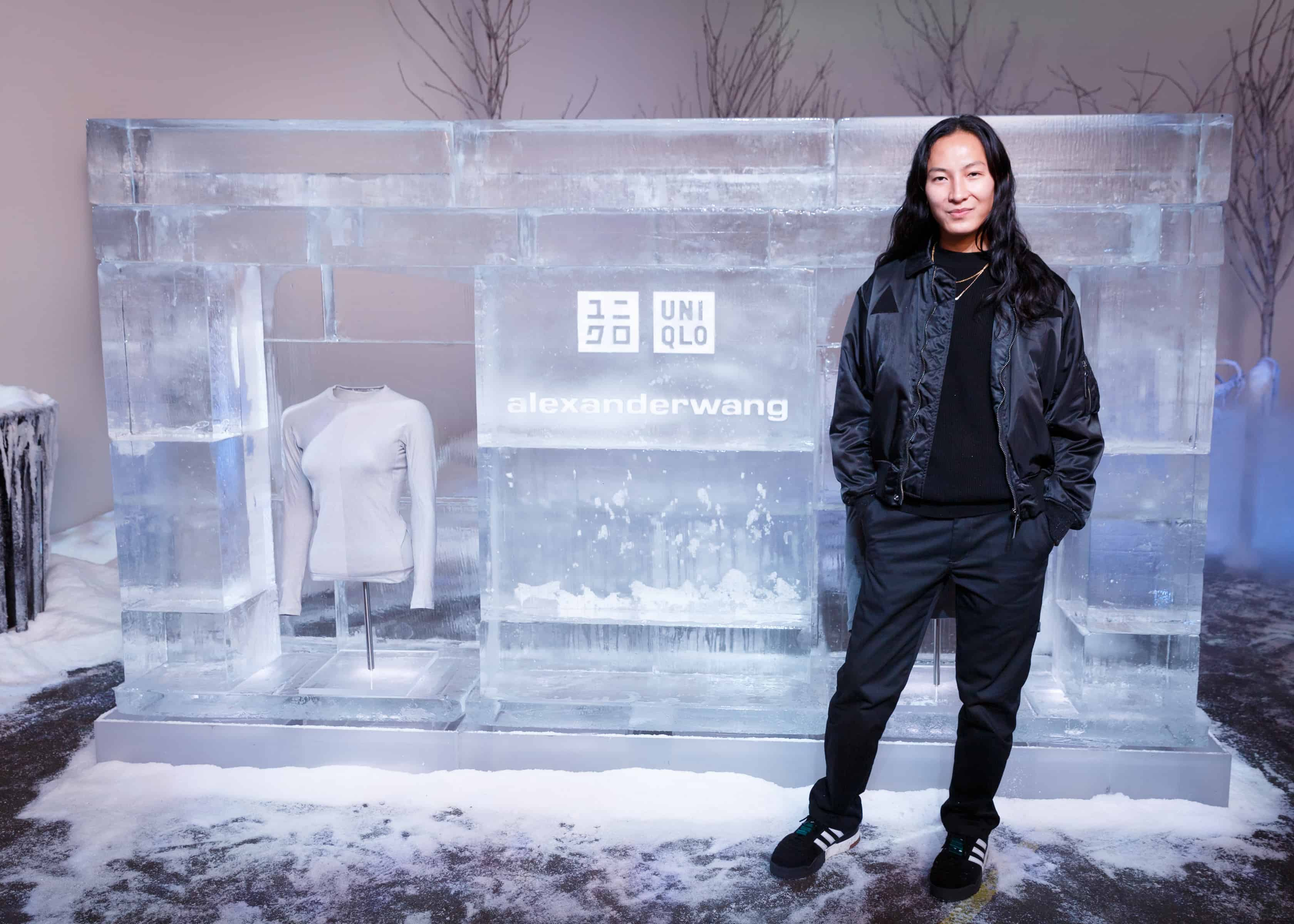 code promo 759df 2df7f ALEXANDER WANG UNVEILS NEW COLLECTION WITH UNIQLO IN NYC